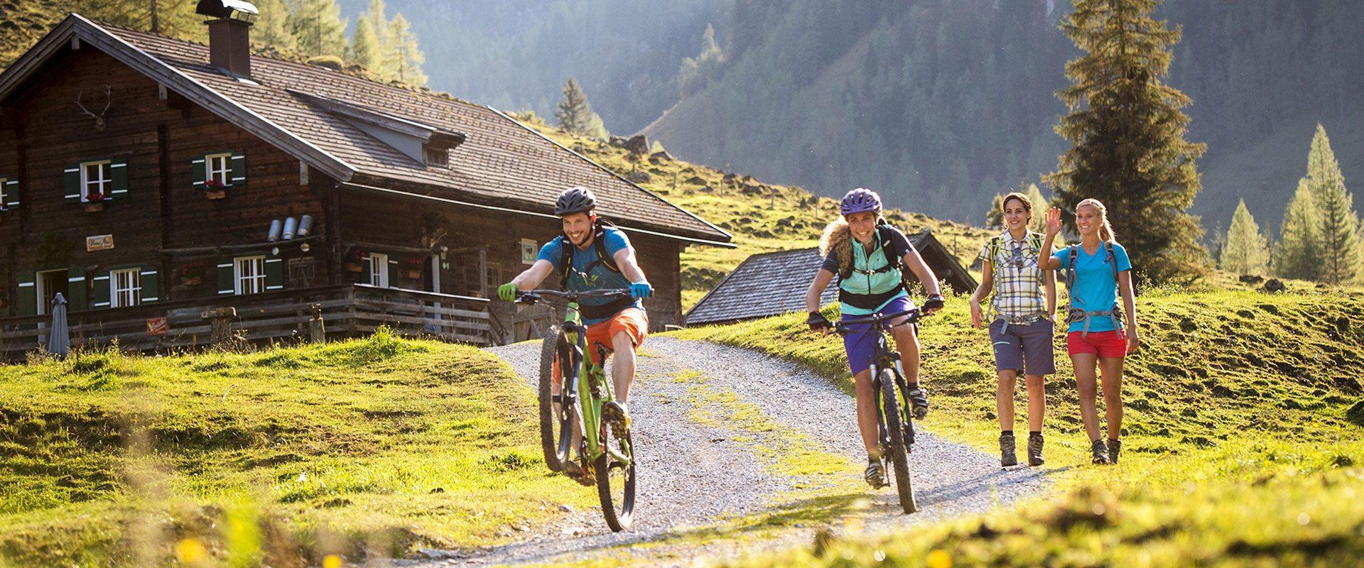 Wanderurlaub & Sommerurlaub in Flachau, Salzburger Land